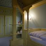 Das gelbe Schlafzimmer im Obergeschoss